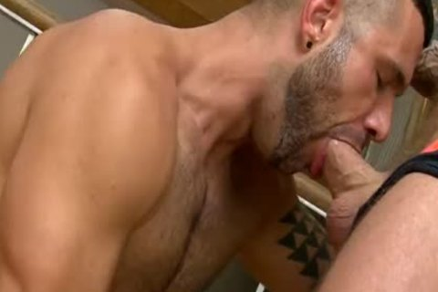 Muscle latin hunks breeding with bare ramrods
