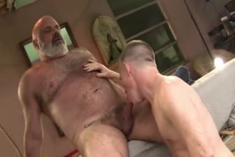 males With Great knob plow nice Daddy Bear