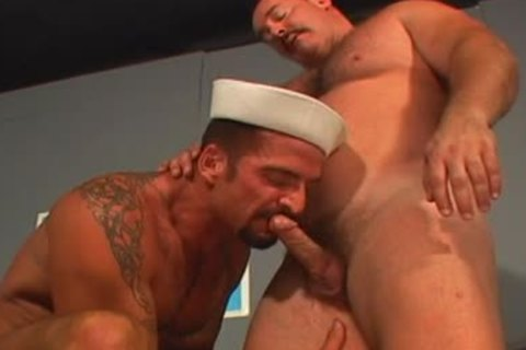 curly homosexual males bunch-sex pooper