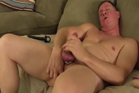large 10-Pounder Daddy Carlos Beats Off And Cums large