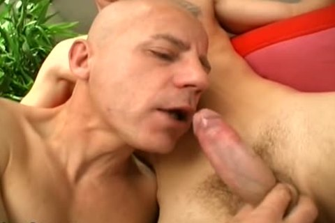 Two Younger men have a joy This DILF's wazoo!