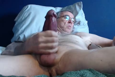large penis grand-dad lengthy wank On web camera (no love juice)