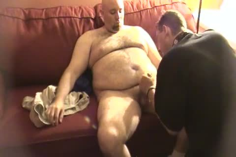 My Daddy Met This Furry Trucker Daddy Who Wanted To Work Me Over. No sex semen discharged But Still delicious palatable.