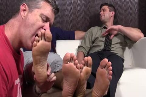 horny males Cole And Kenny Love To Have Their Feet Worshipped