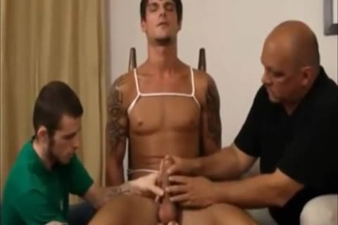 Restrained homo cook jerking