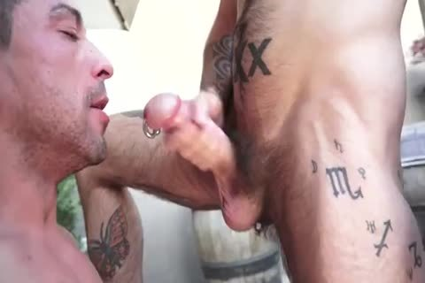 Tatted males nail BB
