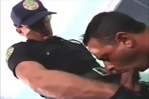nailed By Police Officer