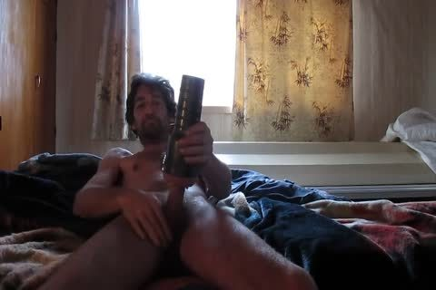 Steve Using Fleshlight In Bedroom.mp4