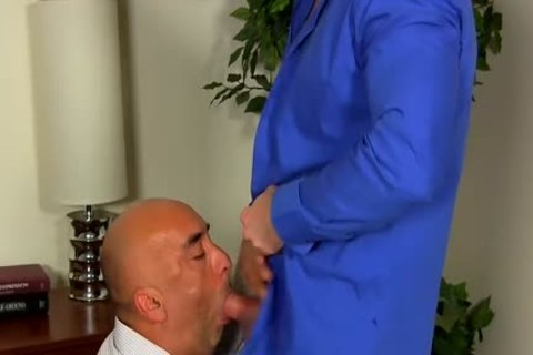 Shay Michaels bonks His Annoying Boss Brian In His backdoor