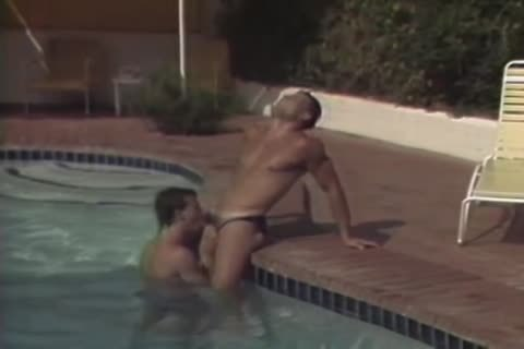 Cuties pounding by the pool