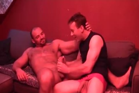 Georgio Buck gets A taste Of A pumped up Mans Hungry schlong