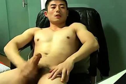 Chinese stroking On webcam