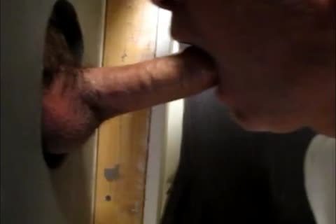 stunning sucking Action At The Homemade Glory hole 4