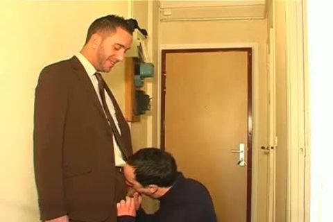Full clip scene: A blameless Neighbour Serviced His gigantic 10-Pounder By A twink!