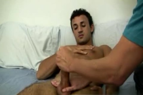 palatable Dentist homosexual Sex clips Mr. Hand Works Him Magic one time