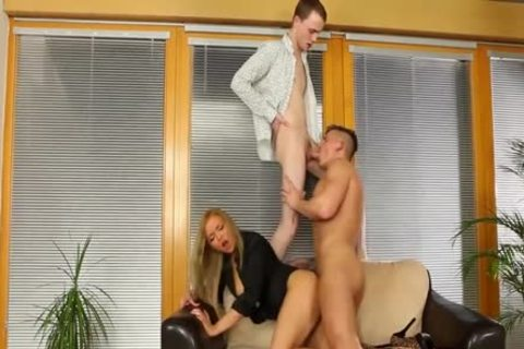 nasty Bisexuals fucking With A blond