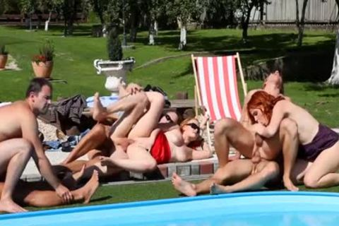 Outdoor bisex Sex orgy