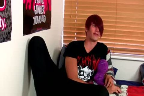 Smoking palatable Emo teen Rhys Casey Moans In enjoyment And Joy