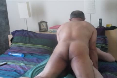 bisex Columbian BearCock Beats Up one as well as the other My Holes.