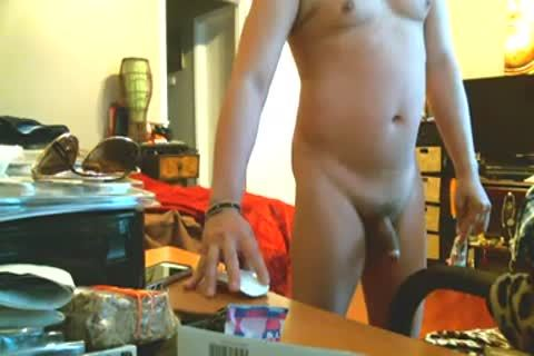 old asian dude WITH young darksome enormous penis THUG non-professional
