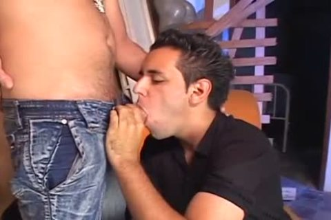 RICCO PUENTES IS fucking FAGS raw three - Scene 2