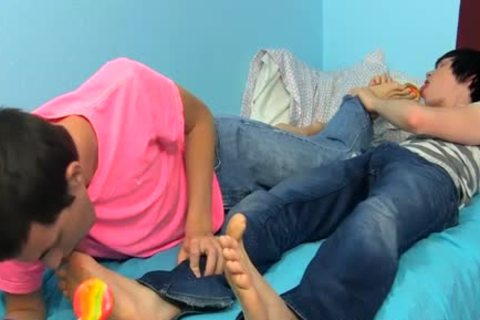 Some Sizzling Foot Foreplay Then bare wazoo slamming nailing For young eighteen Year Olds