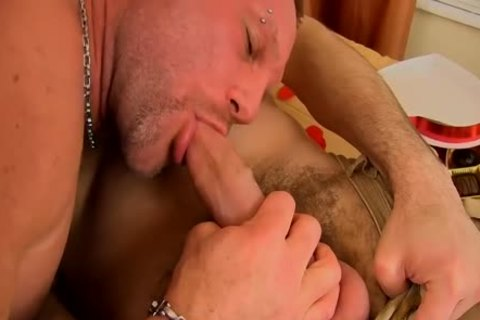 Tremendous Daddy With A Great Large Salami Is hammered And Gaped By Some knob With precious Rump