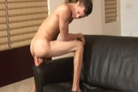 Image gay Sex plowing wazoo boy  Jarrod Relieves Down On His dildo