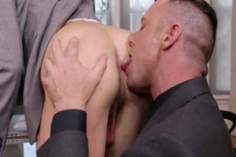 Naughty son blowjob service with sex cream flow