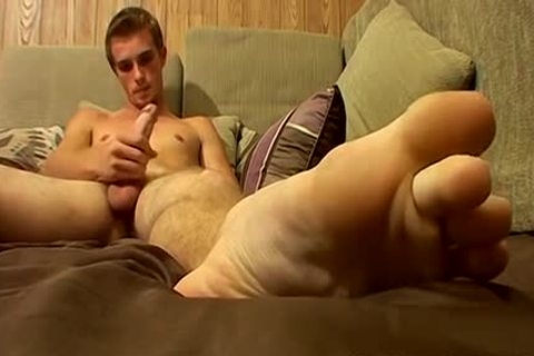 excited Scottie Wants u To see His admirable gigantic penis And Feet