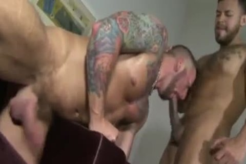 Hunky Muscle Gentleman In Undies strip Down For Ultimate Bum joy butthole Fornicating Action