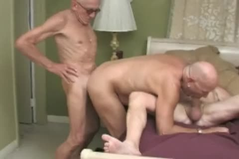 daddy man bang three-some
