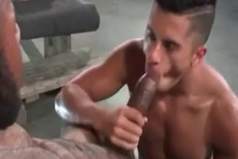 A Very charming Latino homosexual guy Likes Some coarse Greek From A giant African Shaft