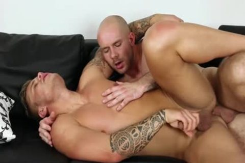 Muscle homo oral job-job With ball batter flow