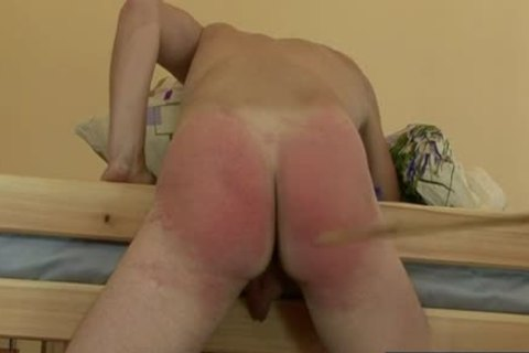 Russian twinks spanking With cumshot