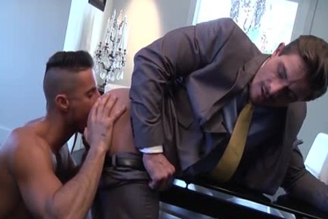 Muscle homosexual butthole invasion And ejaculation