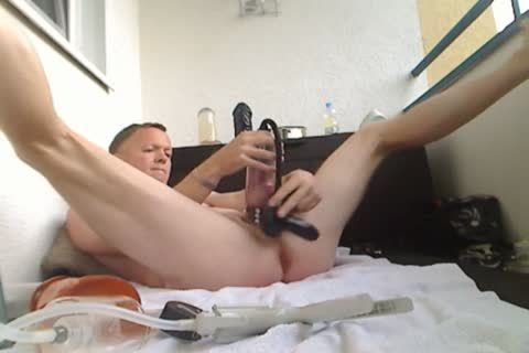 Pumping My rod And wazoo, dildo plow
