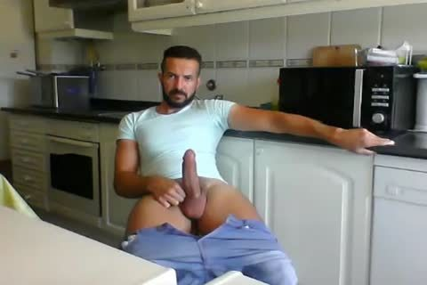 Male In The Kitchen