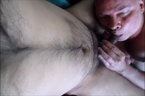 Two hairy Balls, Three Creamy Loads.