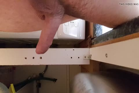 Washing The Dishes naked. Floppy Precum ramrod Wobble