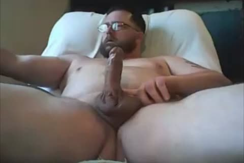 submissive Chub nude Edging And Cumming