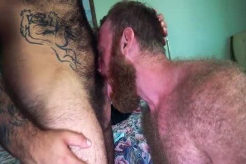 Bear Fur Sweat And sperm With Russell Tyler And Atlas Grant