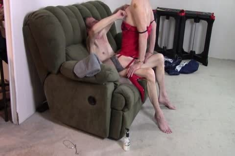 Crossdresser pounding