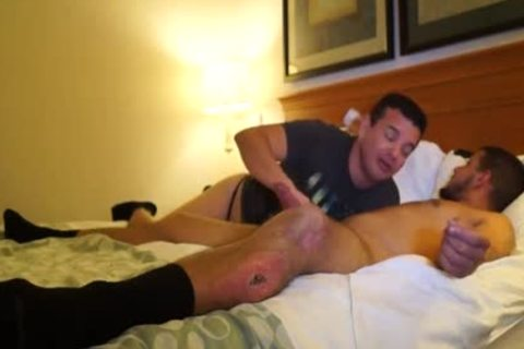 horny Puerto Rican Straight lad bonks homo a-hole For