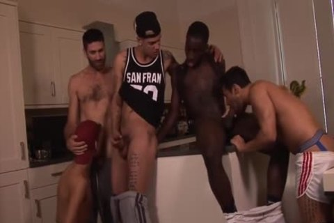 Interracial orgy Time Featuring Mickey Taylor black