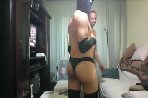 daddy man And lad Interracial two