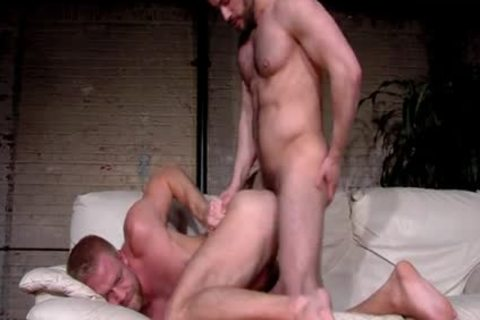 Smooth blonde Christopher Daniels And hairy Felix Barca pound