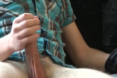 enormous dick homosexual threesome And Facial
