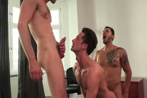 Zander Craze bonks And get pounded -three-some