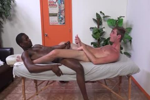 massive 10-Pounder twinks anal Finger And Massage